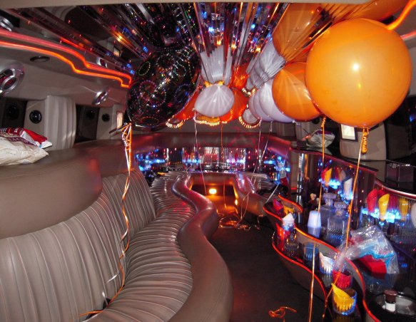 Birthday party bus in Denver